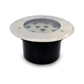 Inbouw LED downlight rond 10W 230V 3000K IP67