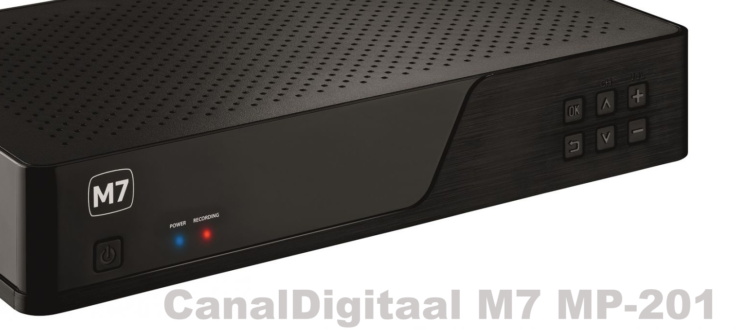CanalDigitaal M7 MP-201 500GB + Smartcard Viaccess
