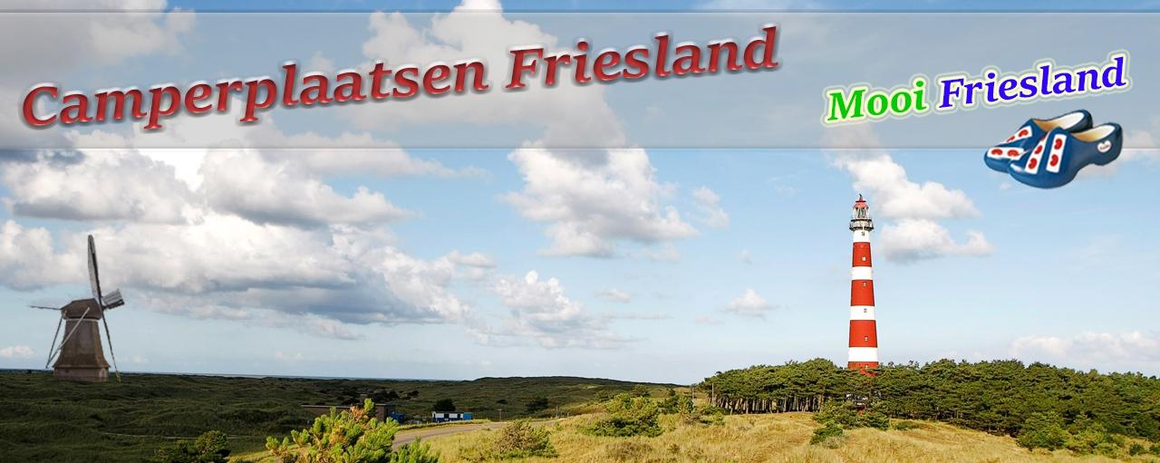 Camperplaatsen Friesland