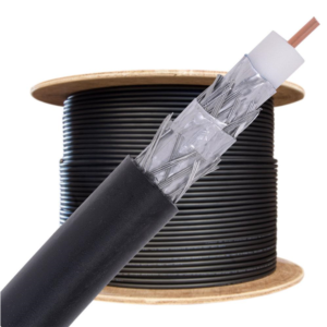 Coax kabel op maat - per meter met stekkers