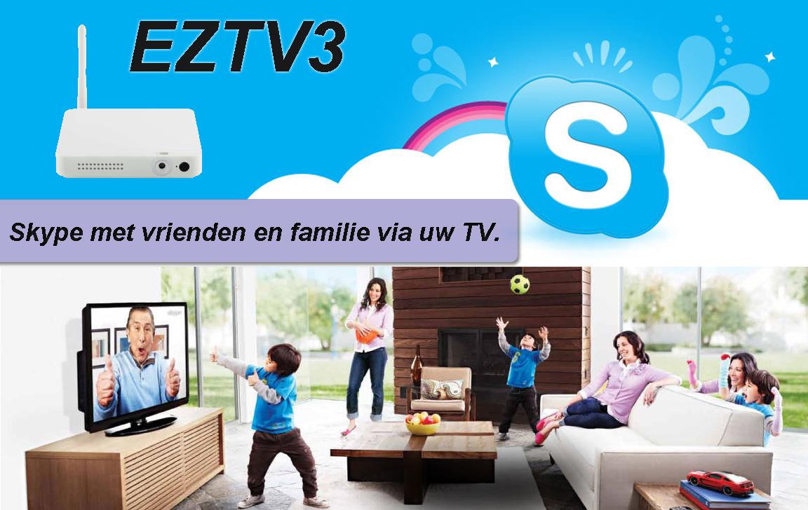 skypen op tv