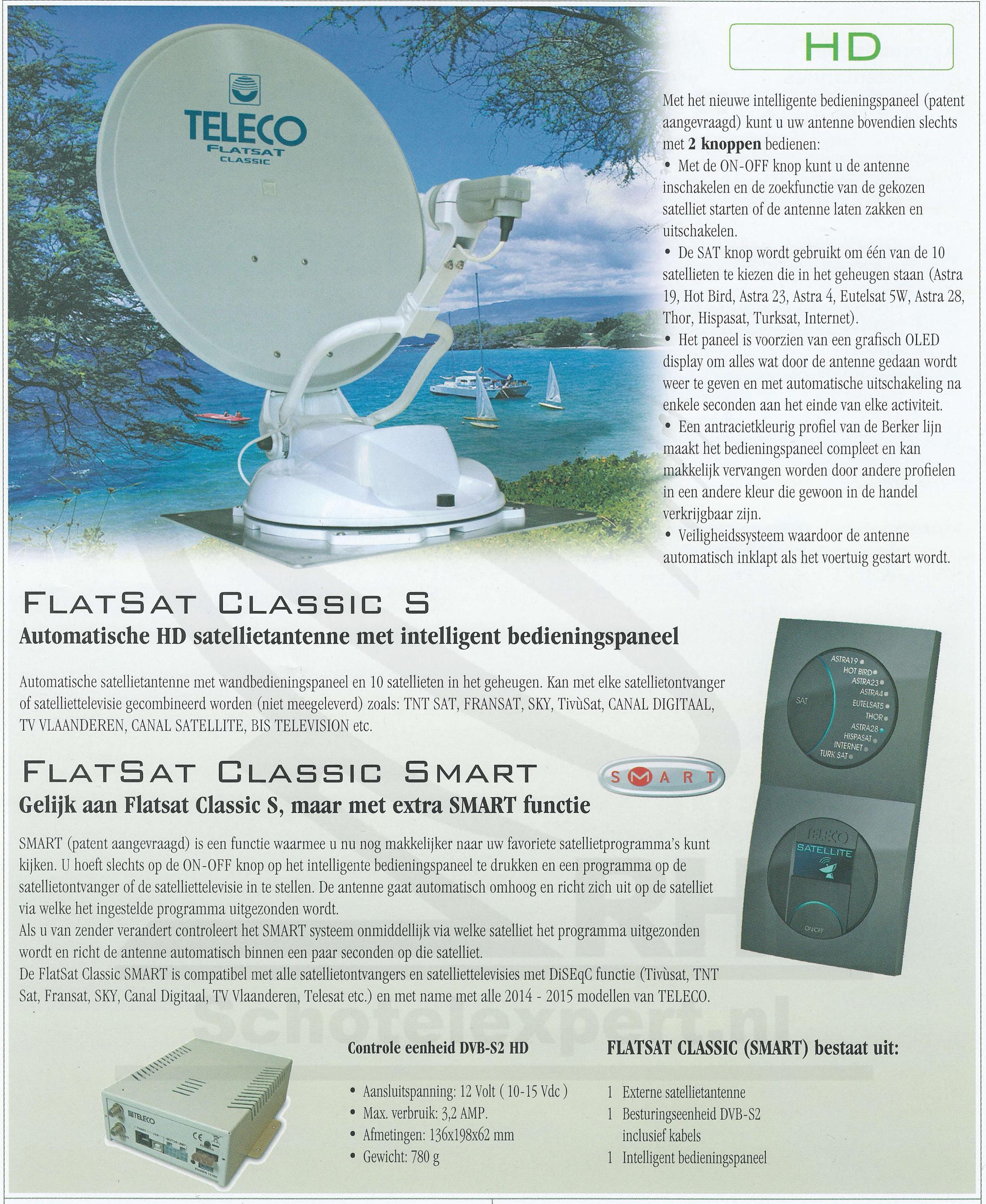 Flatsat Classic Smart