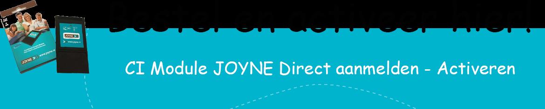 Bestel Joyne hier!