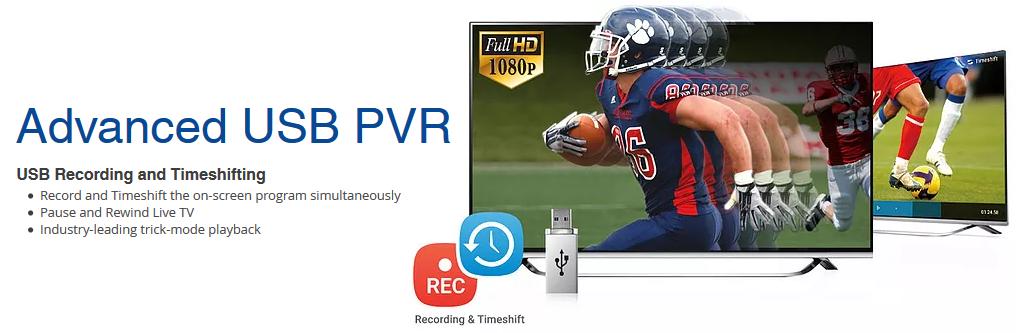 USB PVR IPTV