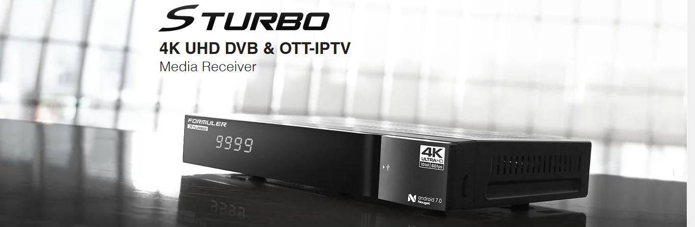 formuler s turbo 4k
