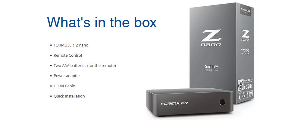 Wat zit er in de doos?