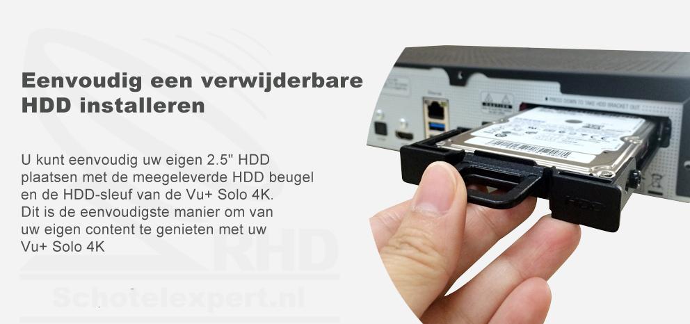 VU+Solo 4k - HDD