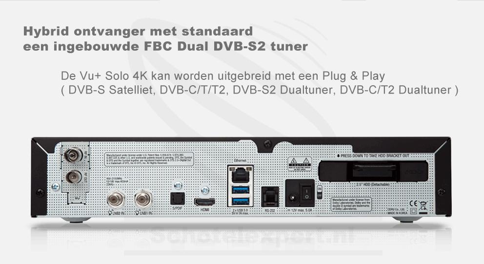 VU+Solo 4k - Tuner's