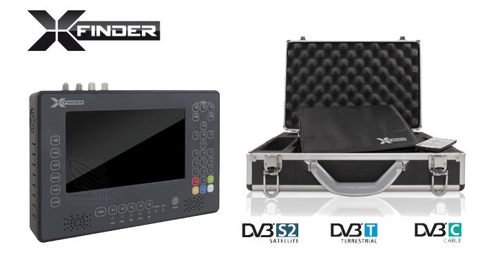 Amiko XFinder HD Professional (Nieuwe versie)