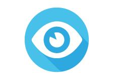 Infrarood oog