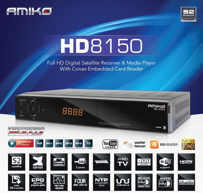 Amiko HD8150 Full HD satellietontvanger