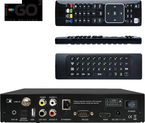 Xsarius I-GO2 HD BACK